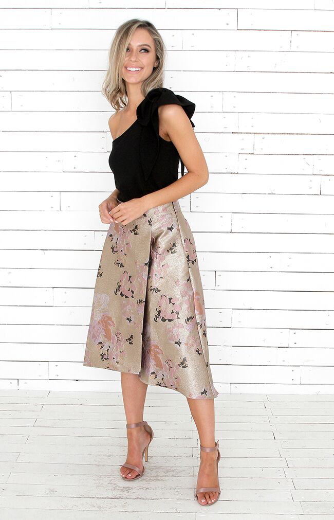 Athena Skirt - Gold