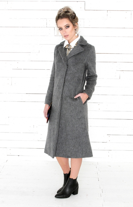 Hayden Coat - Charcoal
