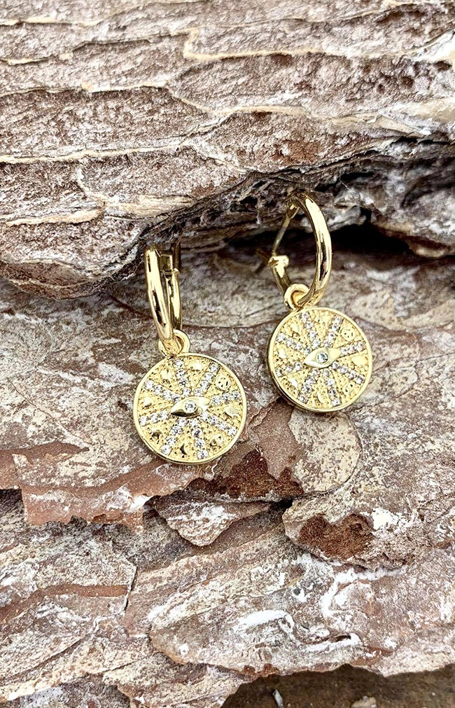 Molly Earrings - Gold Plated