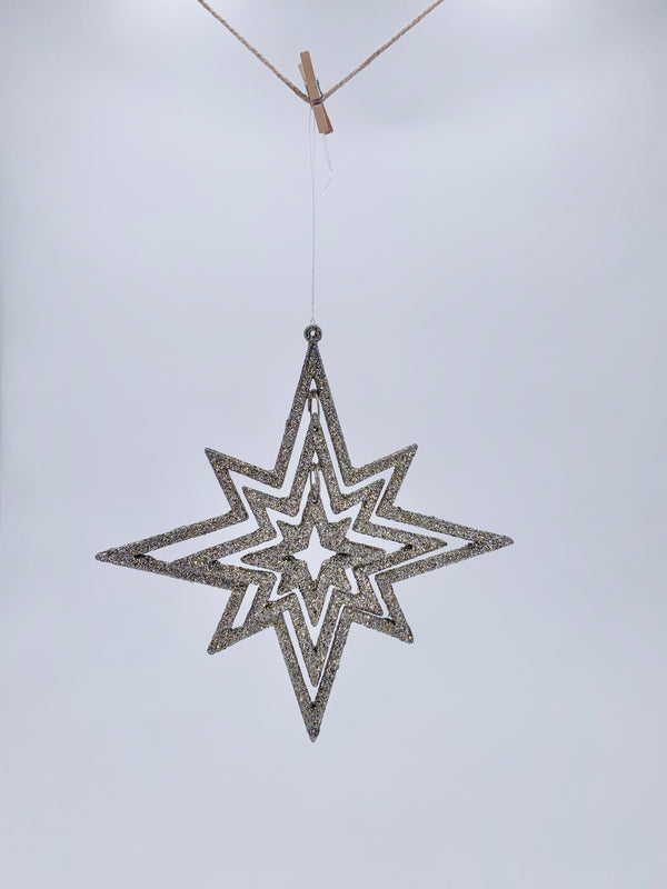 Triple Star Ornament