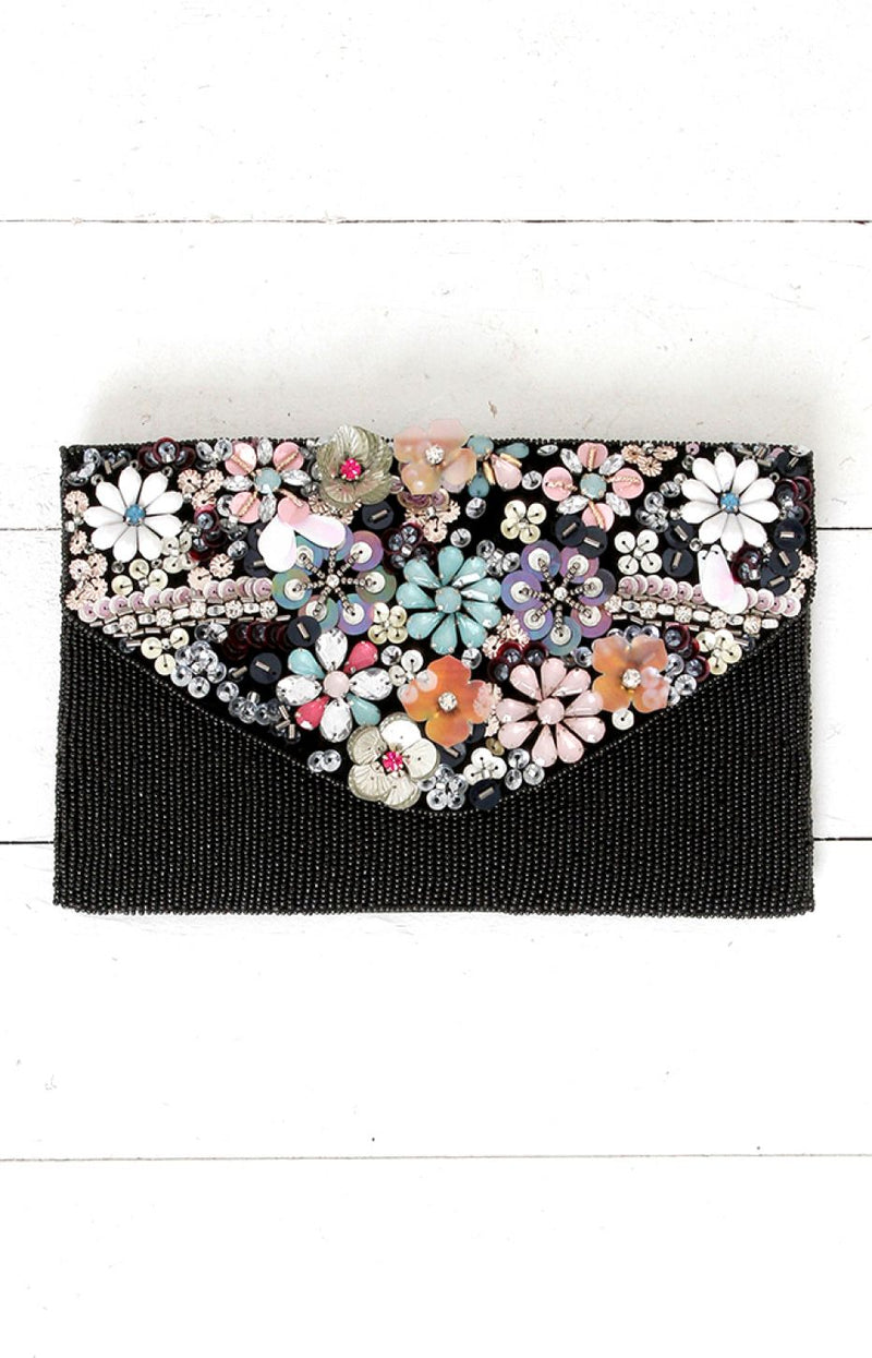 Aubrey Beaded Bag