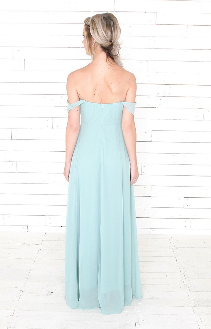 Milla Gown - Mint