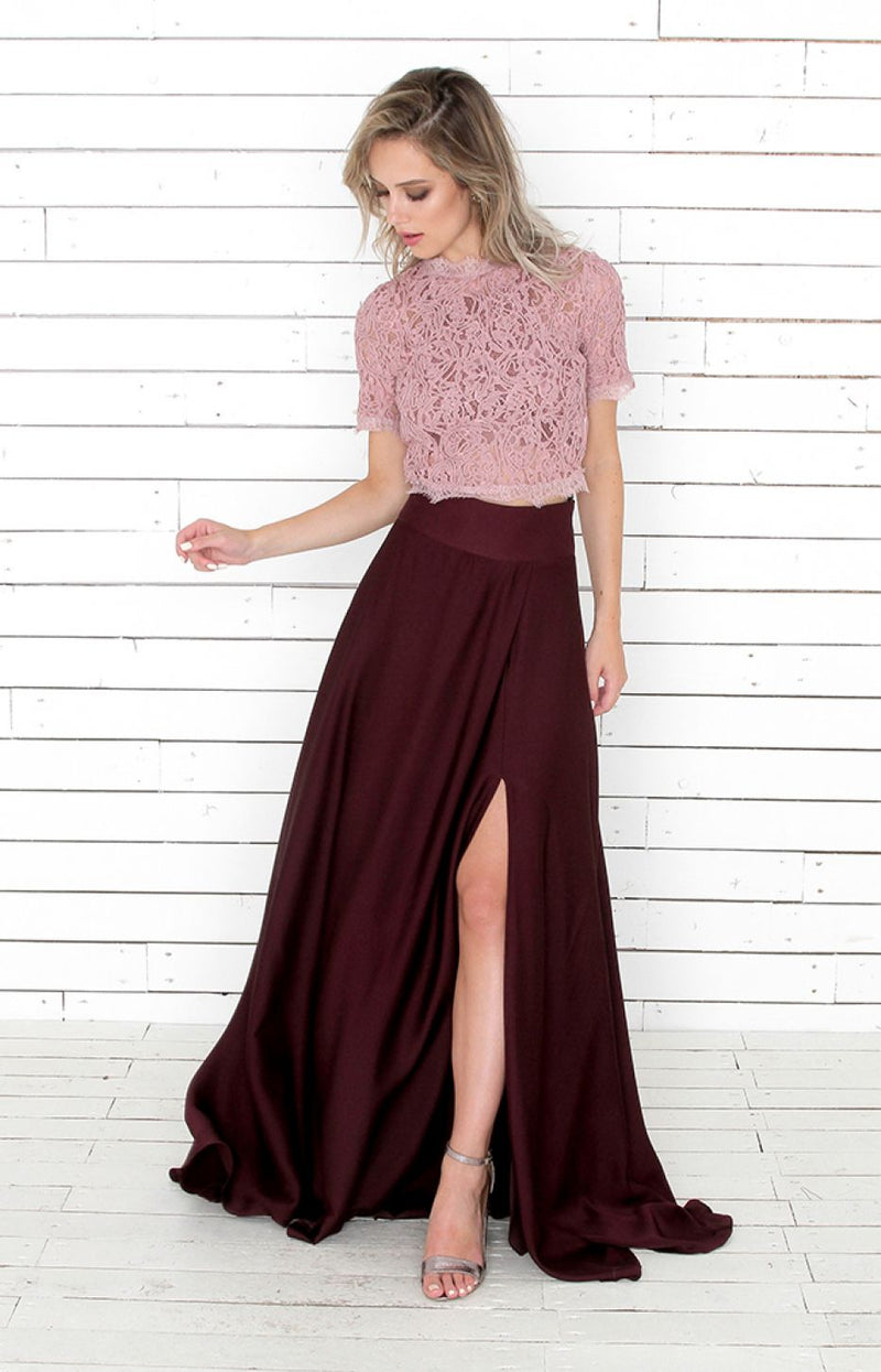 Siena Skirt - Berry