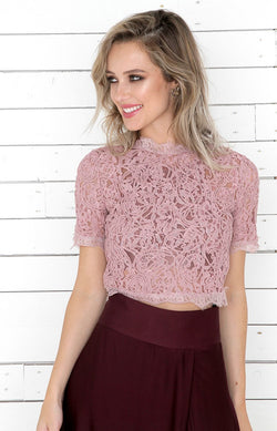Alessia Top - Rose