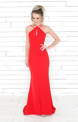 Lydia Gown - Red