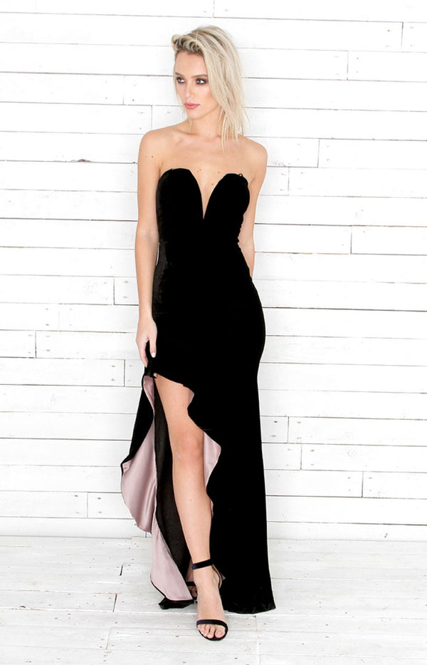 Aby Gown - Black
