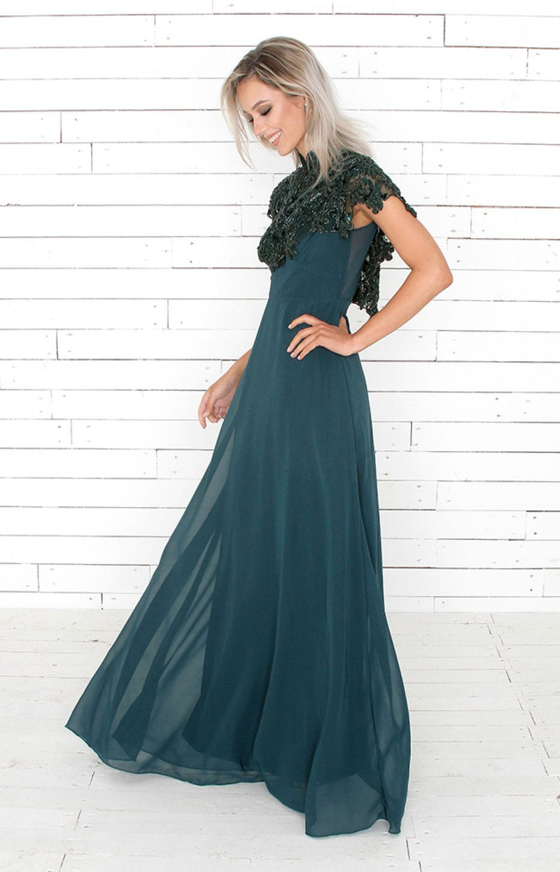Faye Gown - Green
