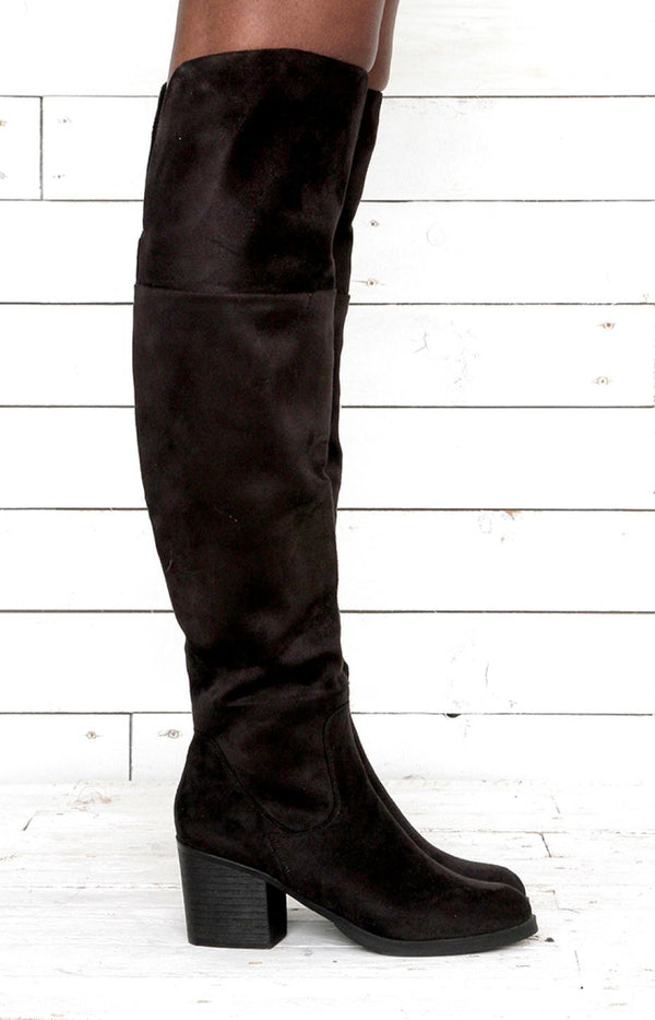 Victoria Thigh High Boots