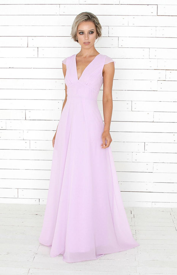 Faye Gown - Lilac