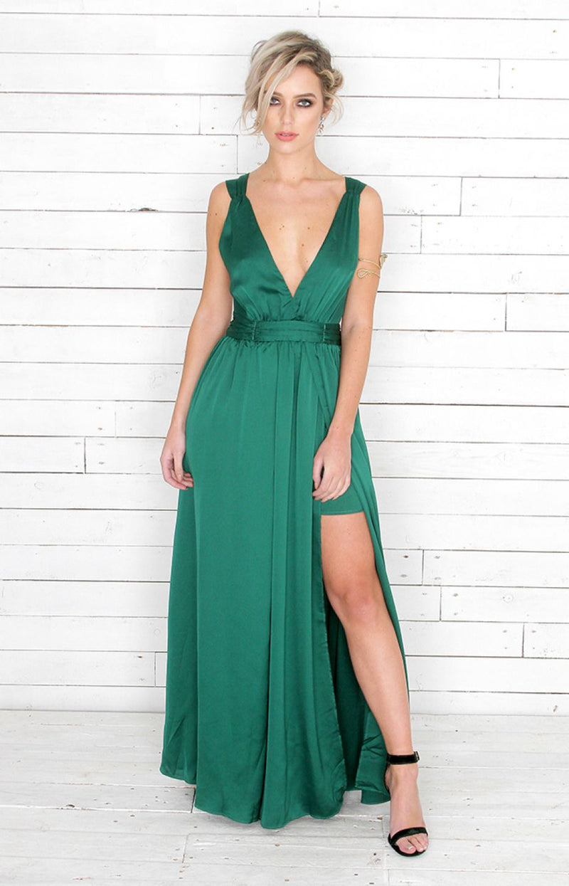 Ivy Gown - Green