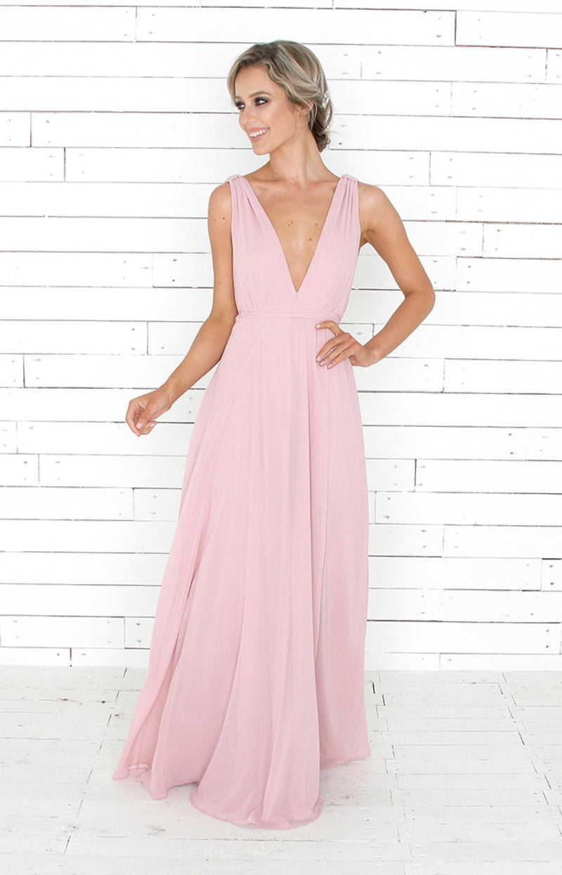Isla Gown - Blush