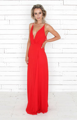 Louisa Gown - Red