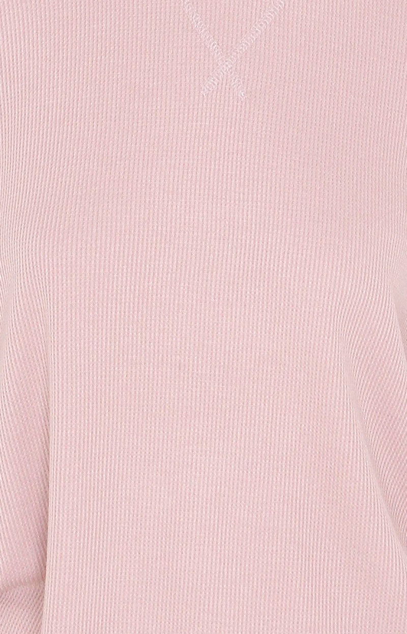 Ribbed Long Sleeve - Pink