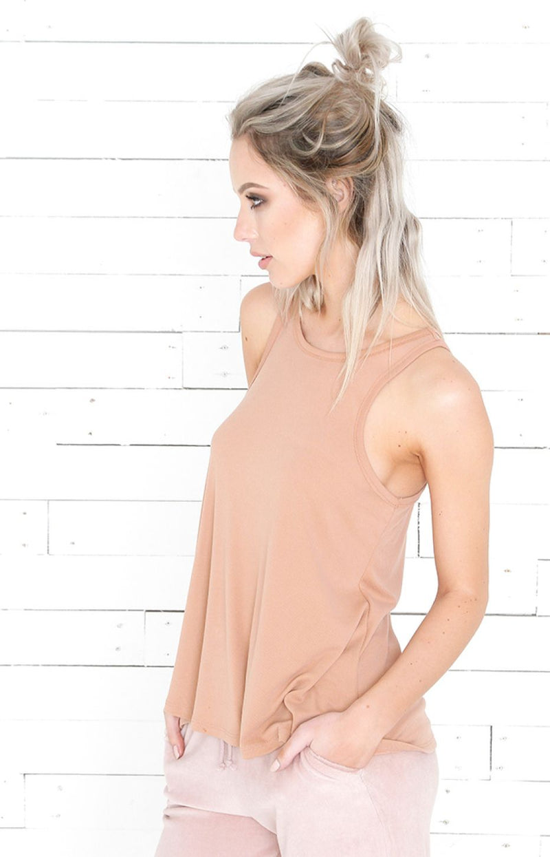 Racerback Top - Orange