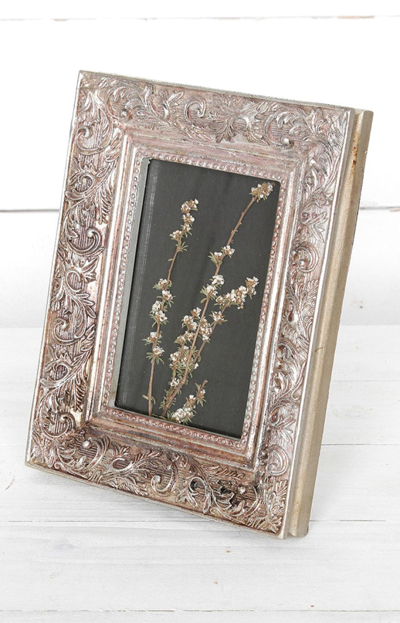 Intricate Frame - Silver