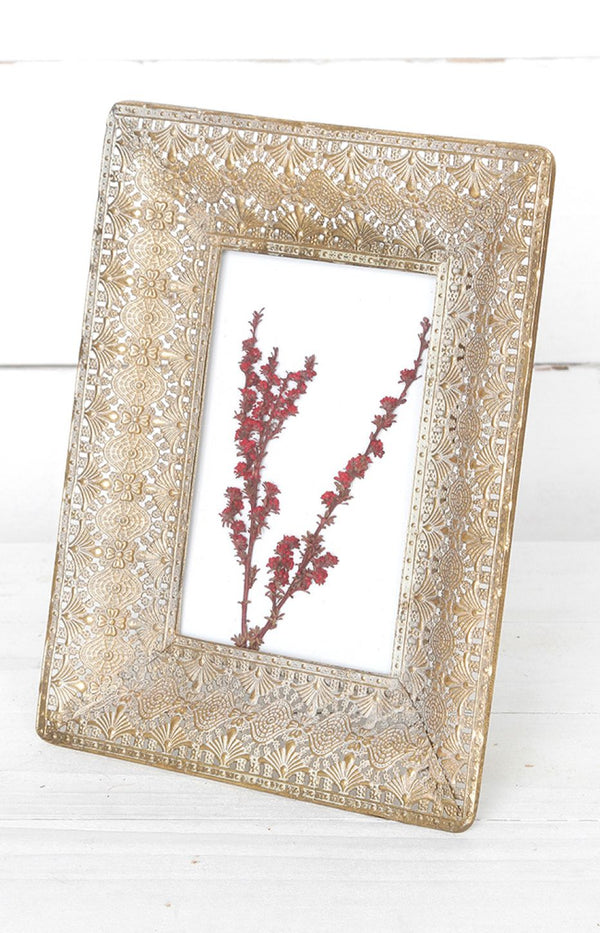 Etched Frame - Gold