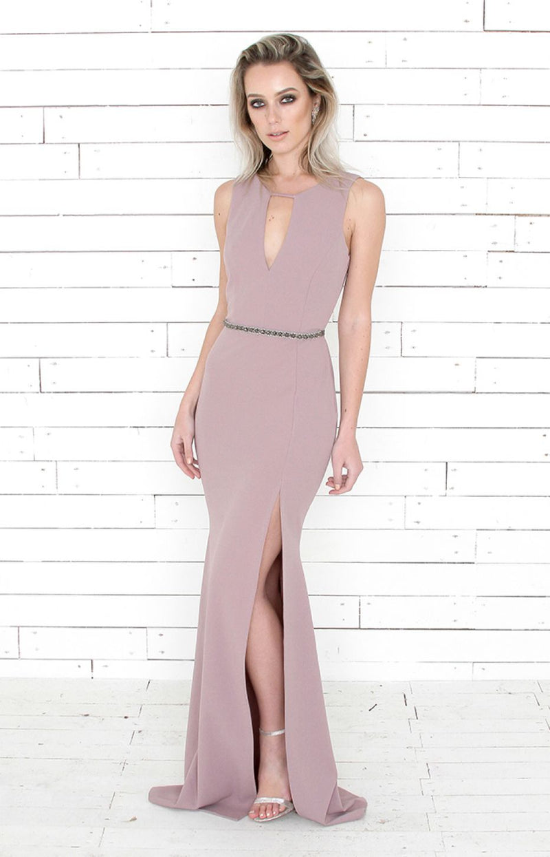 Callie Gown - Mauve