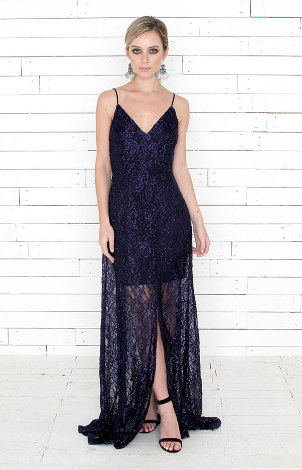 Tandy Gown - Navy