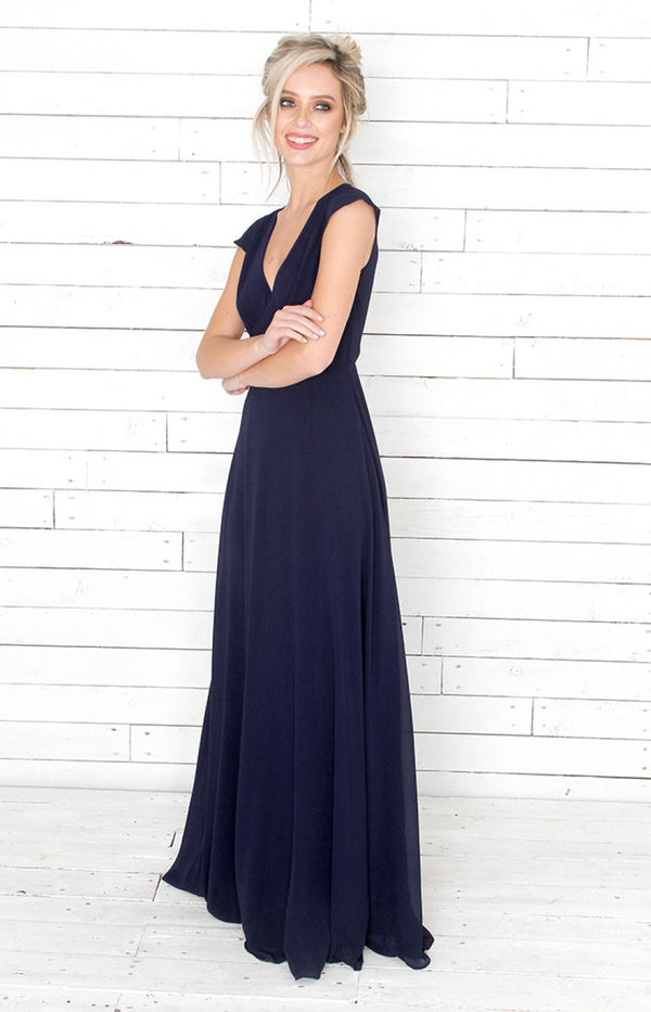Faye Gown- Navy