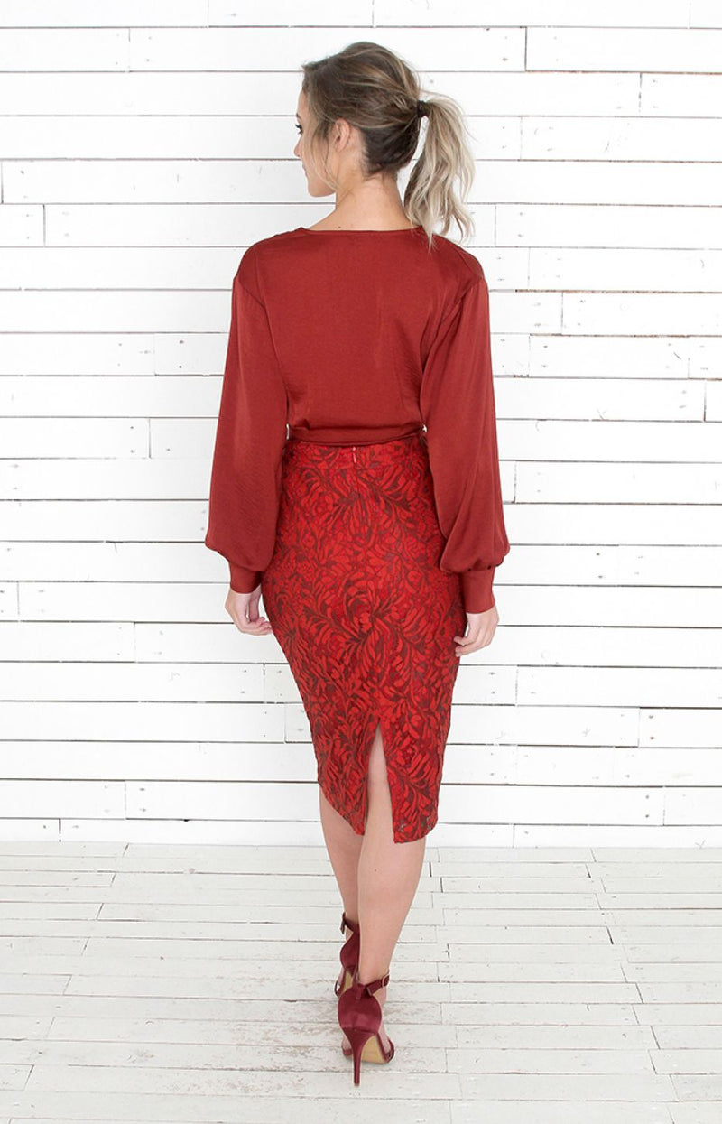 Hayward Skirt - Red