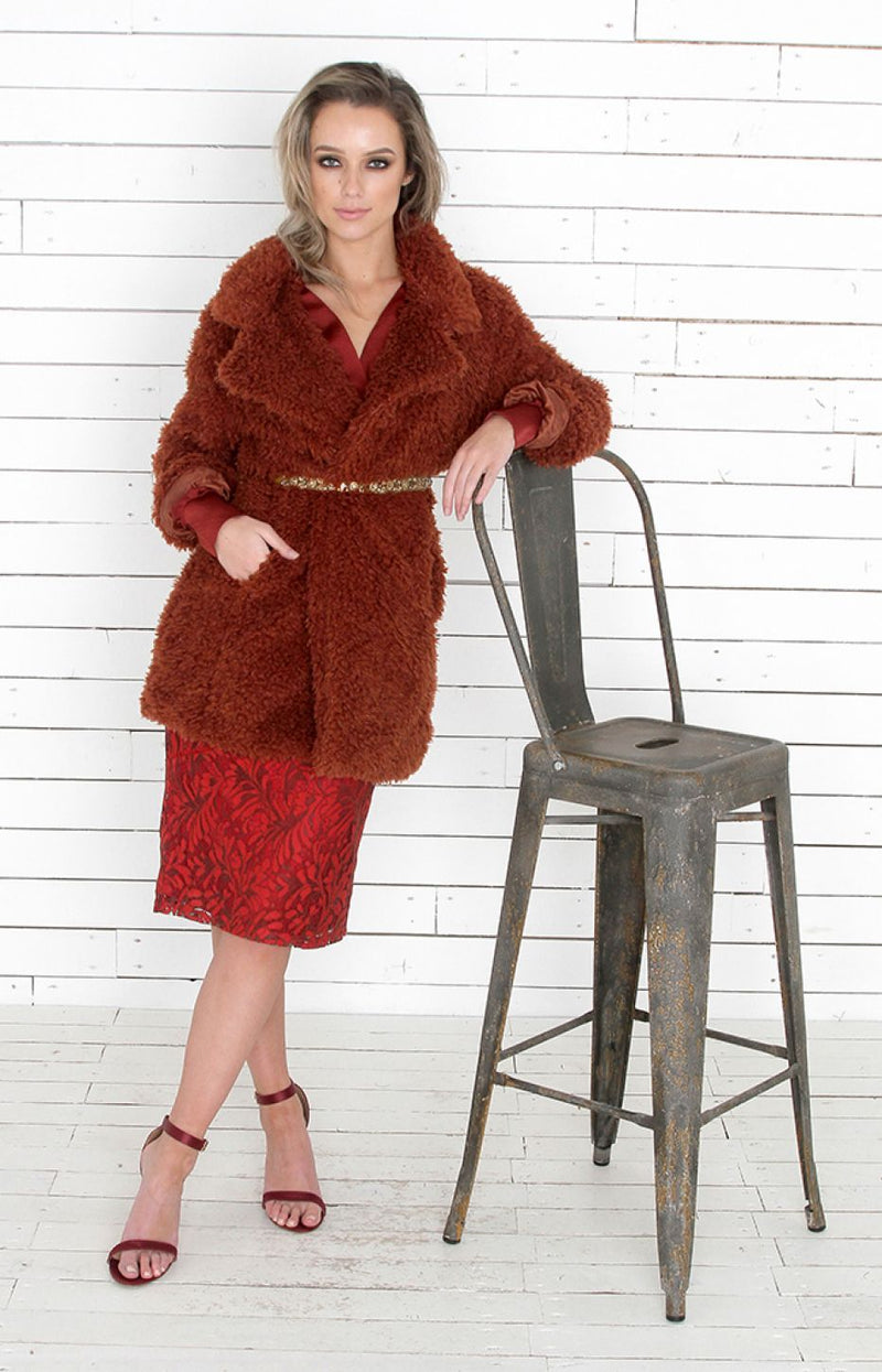 Posy Coat - Copper