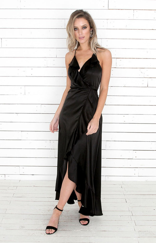 Lorena Dress Lux - Black