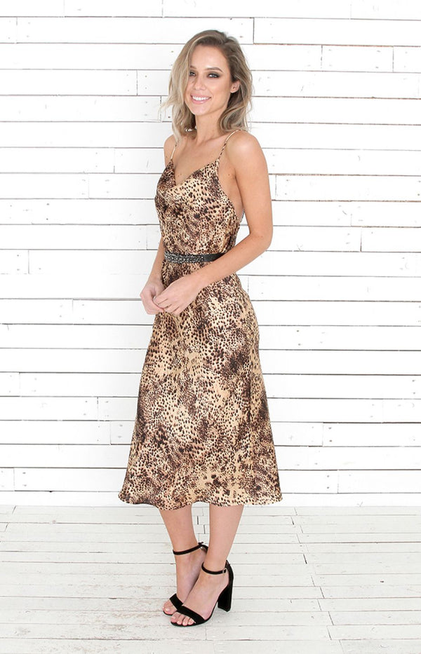 Penny Dress - Taupe