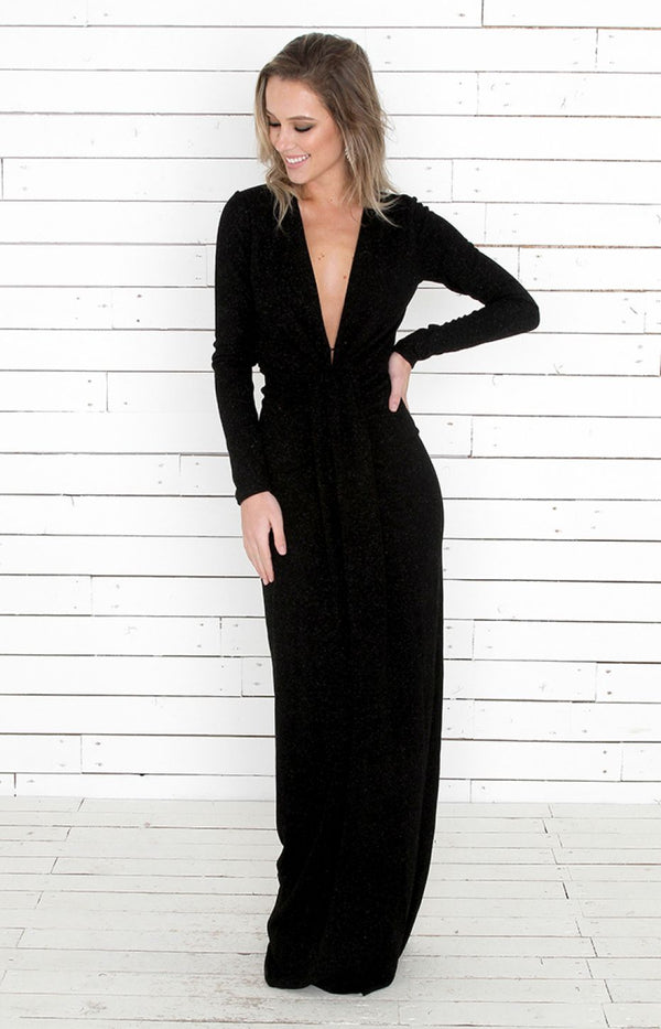 Tamsin Gown - Black