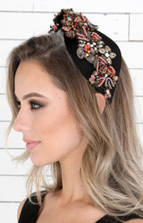 Simone Beaded Headpiece