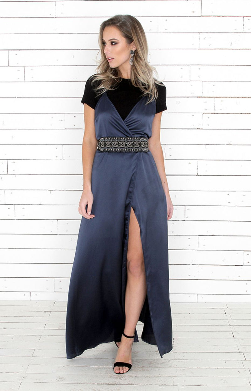 Ada Dress - Midnight Navy