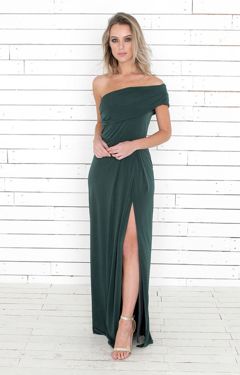 Andrea Gown - Forest Green