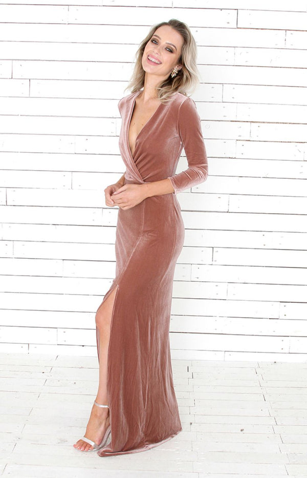 Loni Gown - Blush
