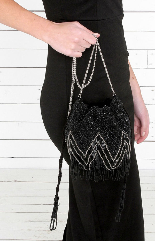 Bruno Beaded Bag