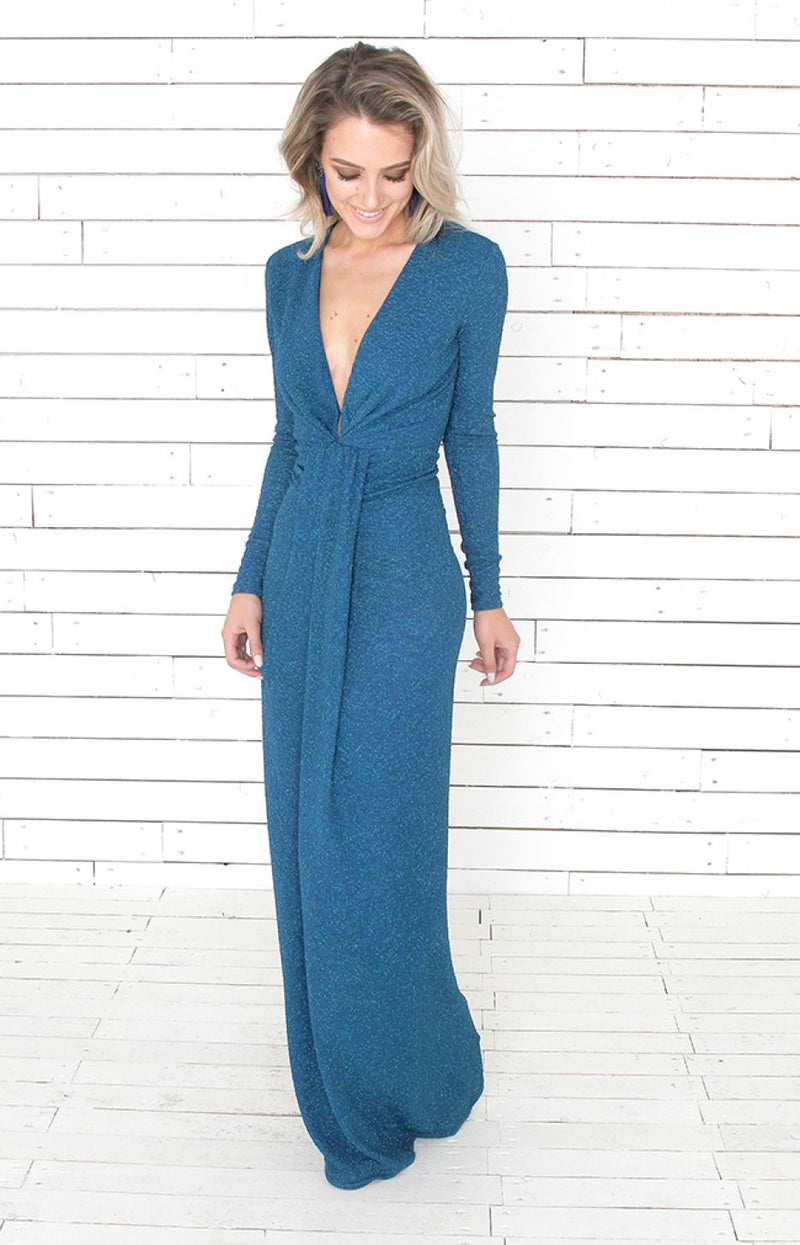 Tamsin Gown - Teal