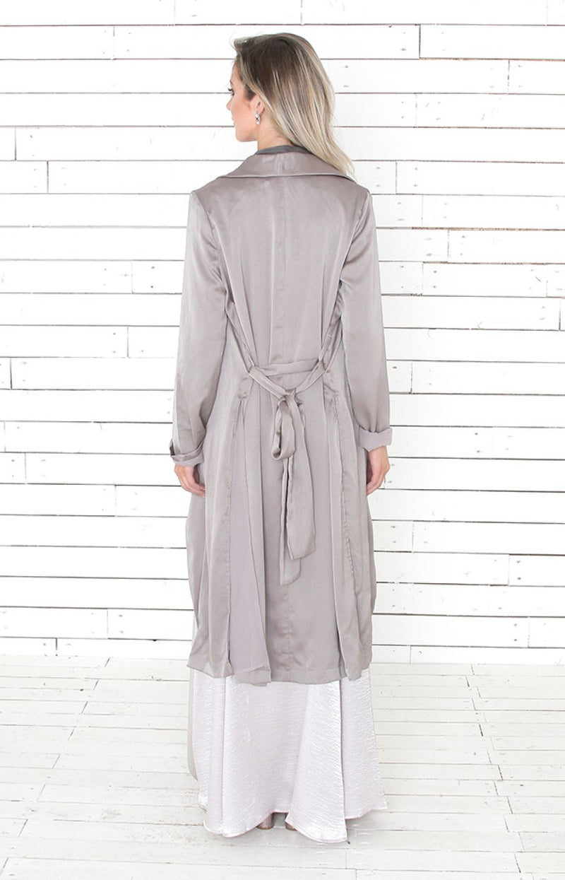 Sully Coat - Silver
