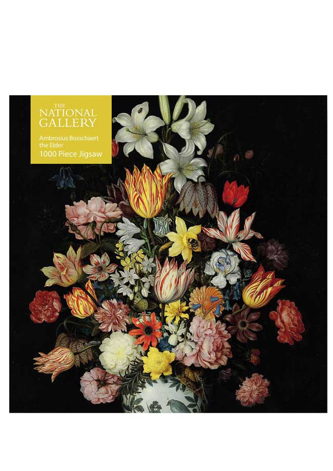 Adult Jigsaw Puzzle - Still Life of Flowers