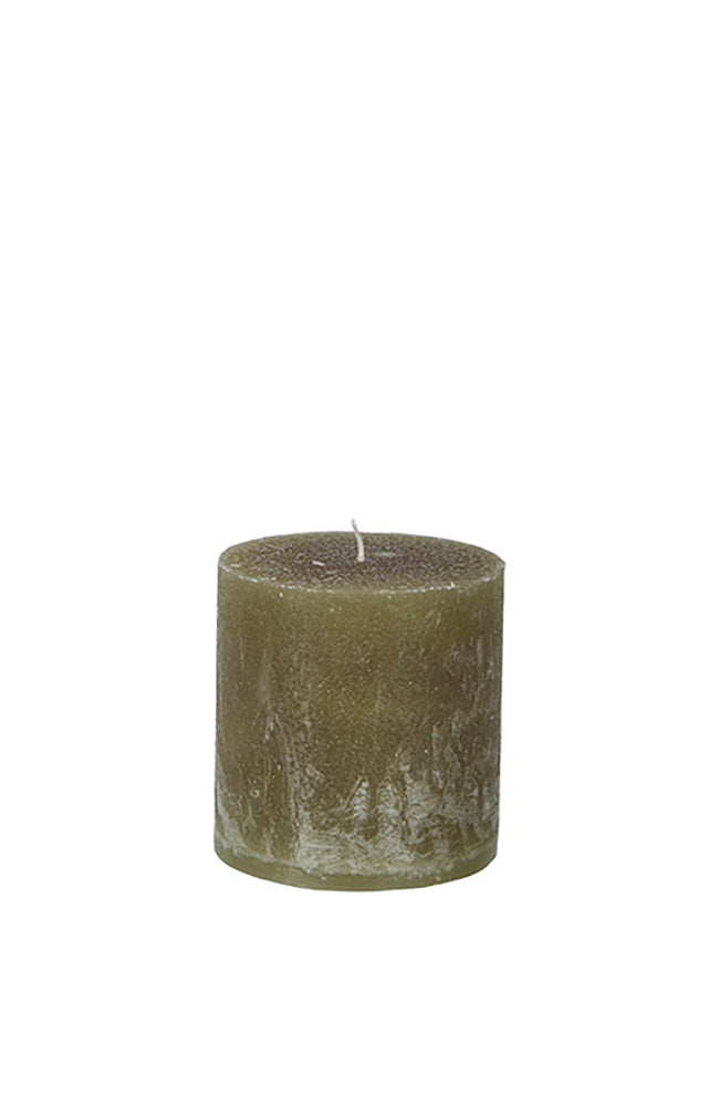 Cote Candle - Moss Green 10x10