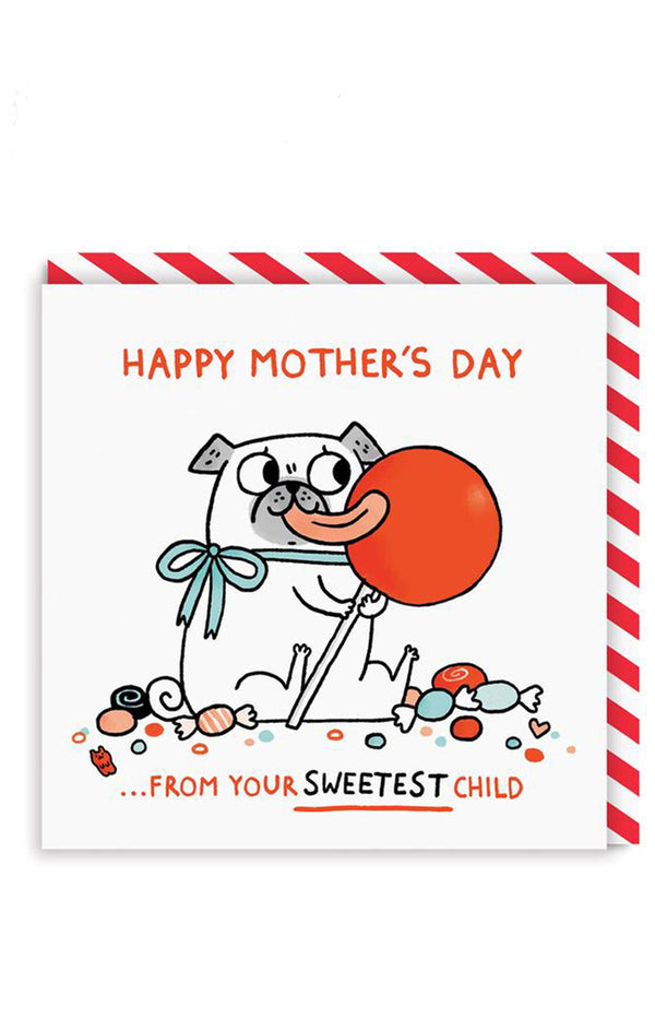 From Your Sweetest Child Greeting Card
