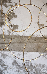 Wire Ring - Antique Brass - 30cm