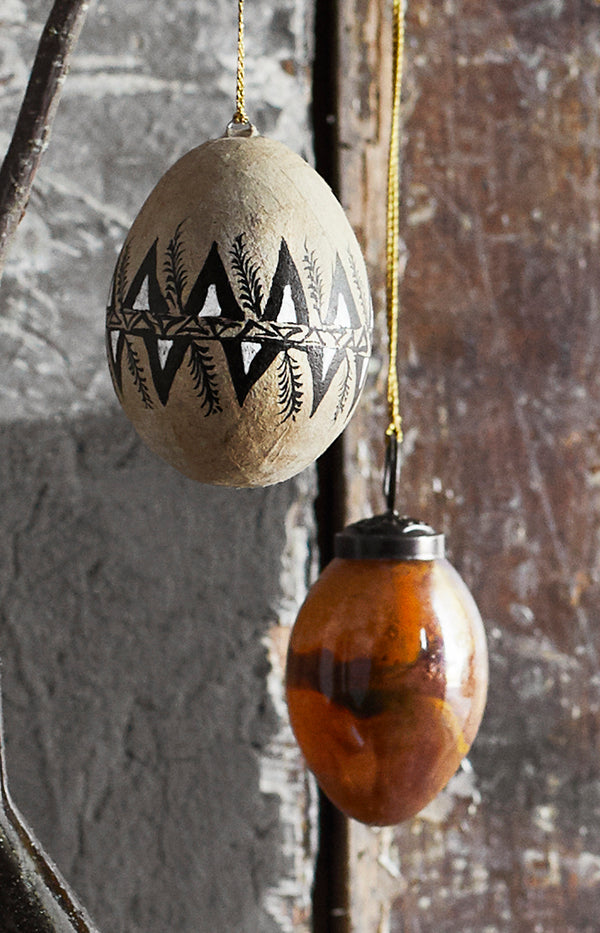 Hanging Glass Egg - 5cm