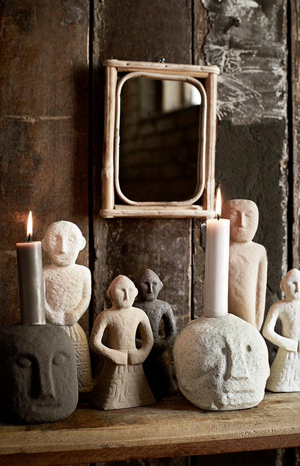 Face Imprint Candle Holder
