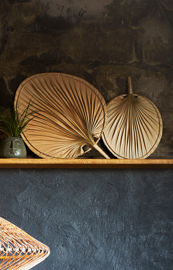 Rounded Palm Leaf