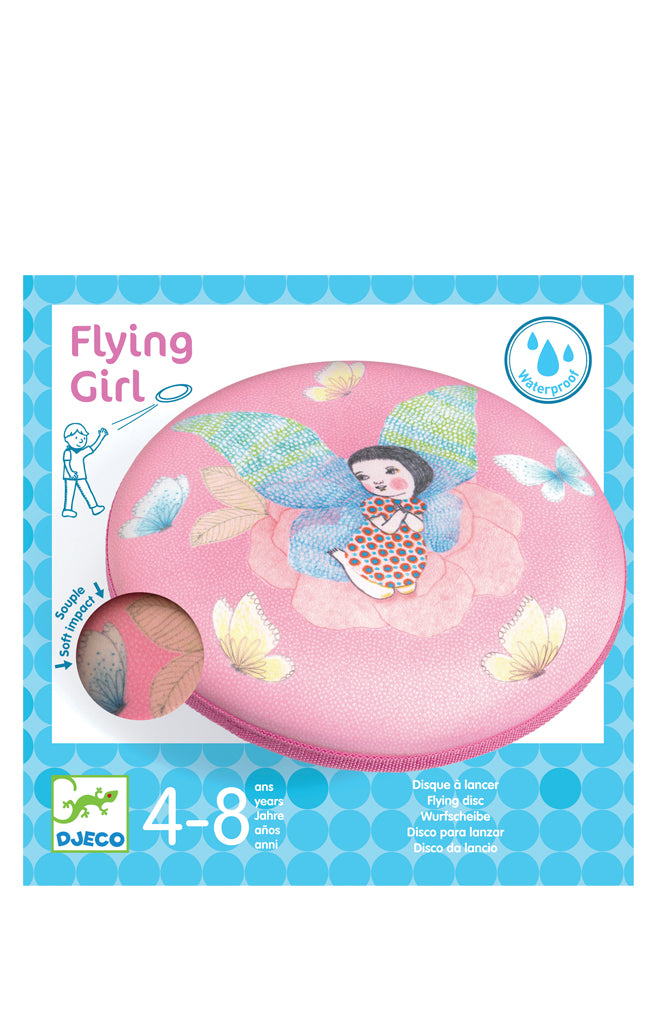 Flying disc - Flying Girl