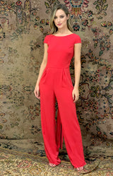 Renae Jumpsuit - Red