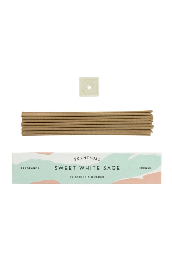 Scentsual Incense - Sweet White Sage