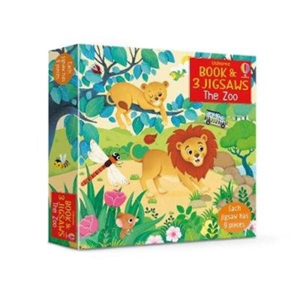 The Zoo - Book & Jigsaw