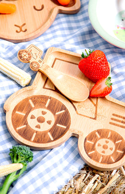 Tractor - Bamboo Plate