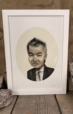 Framed Print - White