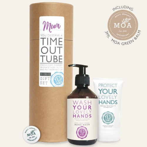 Yes! Nurse Gift Set - Protect Your Lovely Hands Hand Cream, Hand Wash & Moa Green Balm