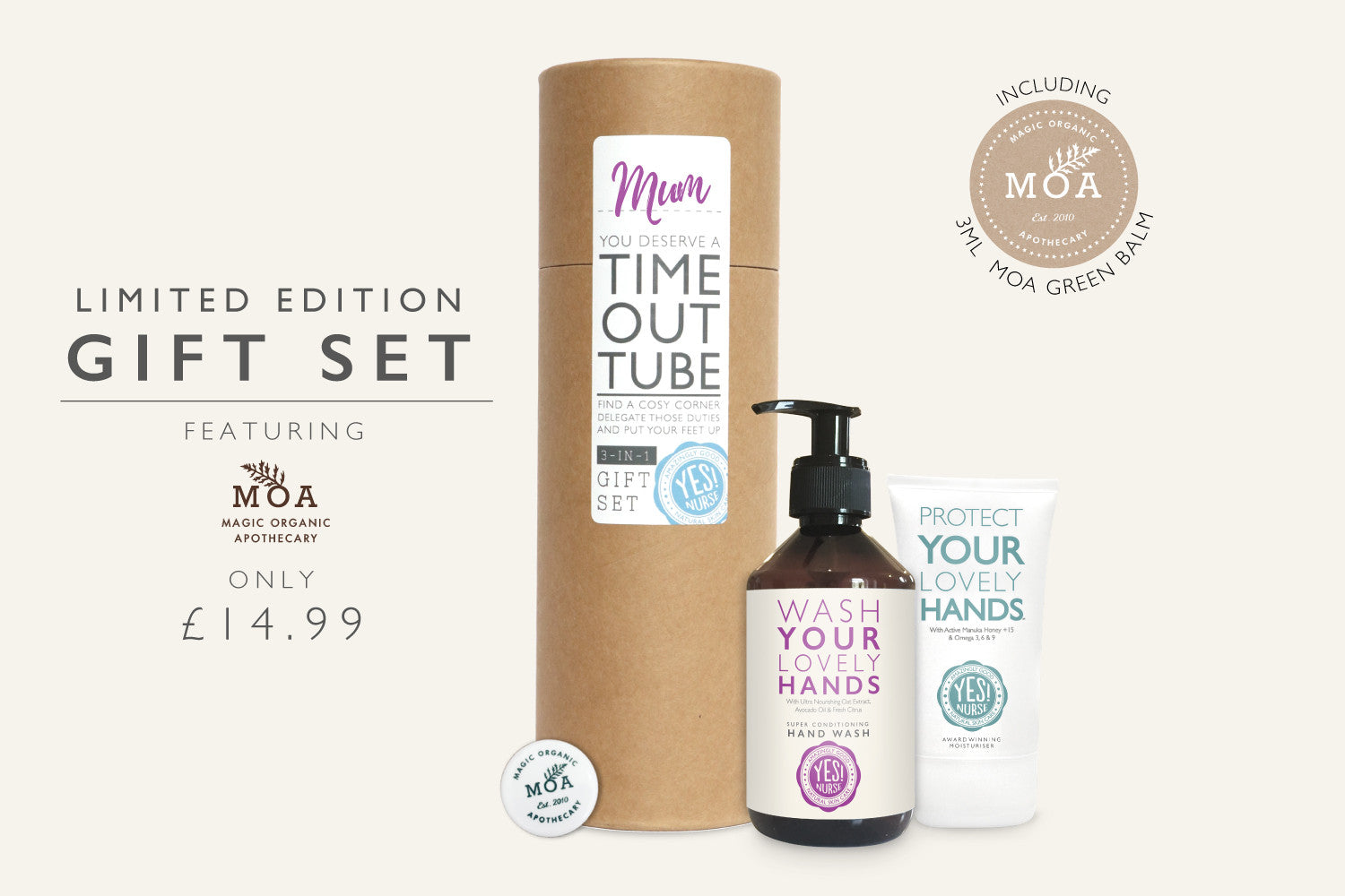 Limited Edition Gift Set - Featuring Moa Green Balm